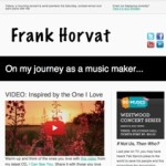 Frank's Monthly eNewsletter