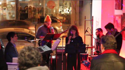The Frank Horvat Band in Concert
