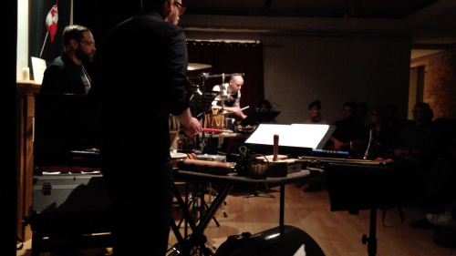 Premiere - Hi, My Name is Pecker. - TorQ Percussion Quartet