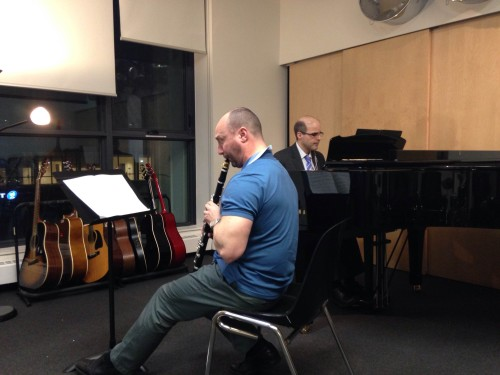 Rehearsal - Michael Westwood, Gregory Millar - Thirty Minutes of a Three Million Minute Journey
