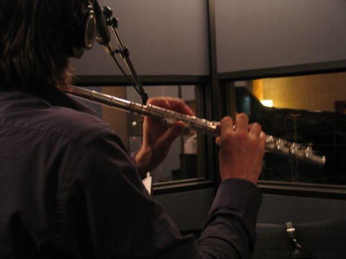 Gregory Millar and Jamie Thompson recording Me by Frank Horvat