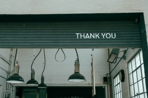 Thank you for keeping the lights on and the music flowing!