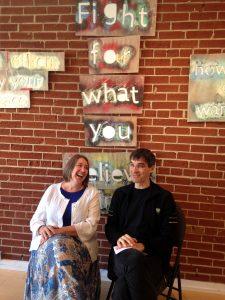 Frank Horvat with Susan Nagy