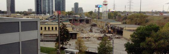 Mr. Christie Cookie Factory Demolition