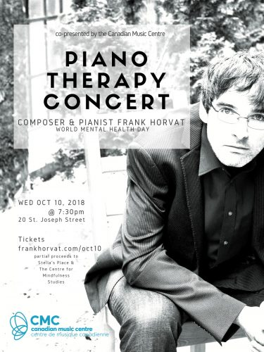 Piano Therapy Concert - Oct 10, 2018 - Frank Horvat
