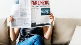 Fake News by Frank Horvat (Photo by rawpixel on Unsplash)