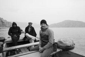 Luke Duggleby working in Pakistan