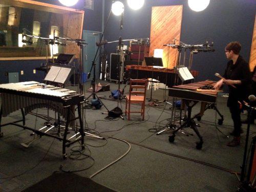 Beverley Johnston recording Frank Horvat's Wood and Metal Bars