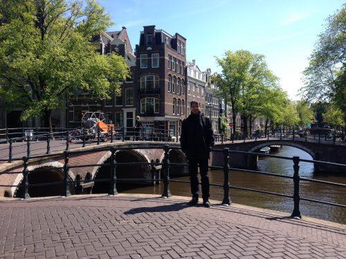 Frank Horvat in Amsterdam
