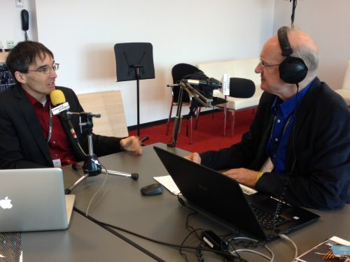 Concertzender radio interview with Frank Horvat at Classical:NEXT at De Doelen convention centre