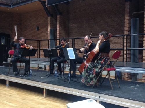 Tana Quartet performs The Thailand HRDs by Frank Horvat