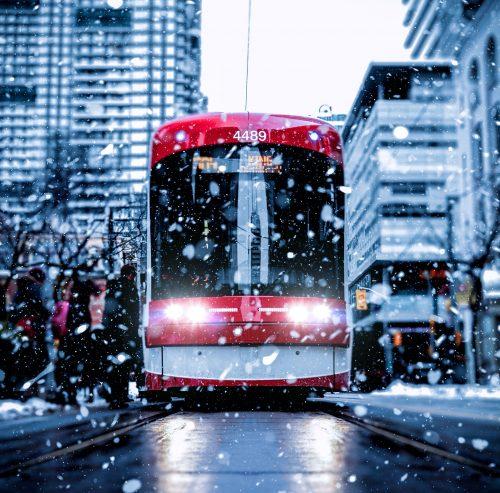 Toronto Snow (Photo by Andre Furtado on Unsplash)