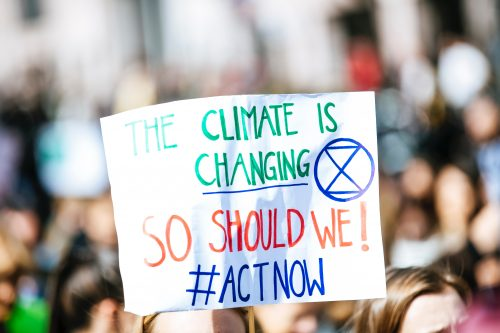 Climate is Changing. So should we! Act Now (Photo by Markus Spiske on Unsplash)