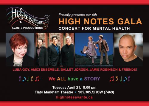 High Notes Avante Gala - April 21, 2020