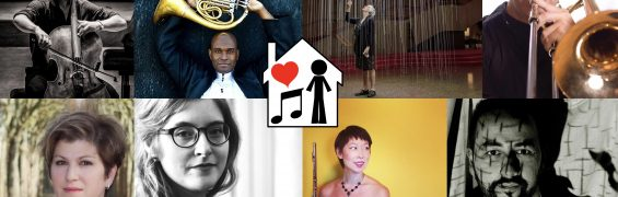 Music for Self-Isolation, Stage 2 participants - William McLeish, Larry Williams, Katherine Carleton, Scott MacInnes, Karen Wierzba, Jeanne Cote, Lish Lindsey, Nicola Mogavero
