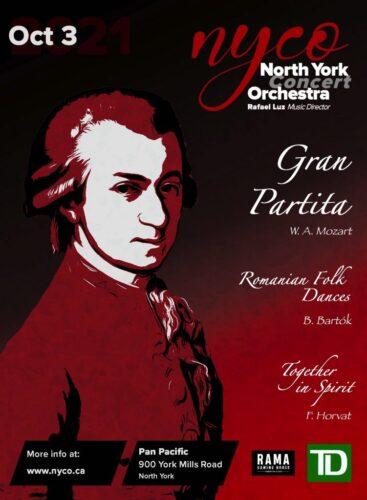 North York Concert Orchestra premieres Frank Horvat's Together in Spirit