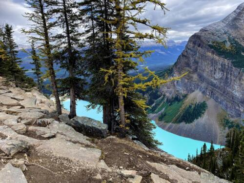 On Top of The Big Beehive - Lake Louise