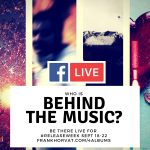 FB Live Events - #releaseweek Sept 18-22 - Frank Horvat