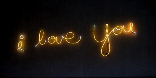 I Love You by Frank Horvat (Photo by Ali Yahya on Unsplash)