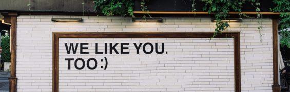 We like you (Photo by Adam Jang on Unsplash)
