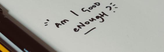 Am I Good Enough? (photo by Hello I'm Nik 🎞 on Unsplash)