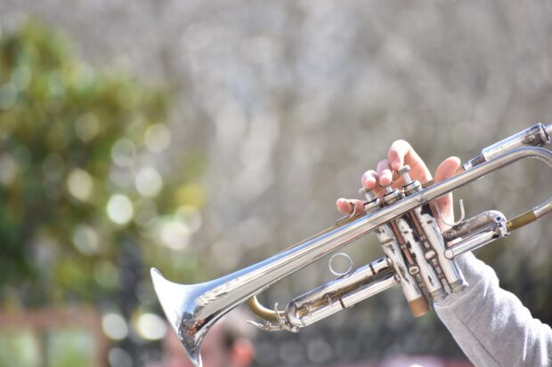 Staccato Etude for Trumpet by Frank Horvat (photo by Fede Casanova on Unsplash)