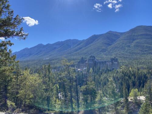Bow River Mountain Range